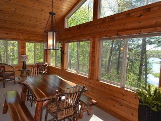 Very Private Cabin on Upper Twin Lake...Large Lot...Great Views!