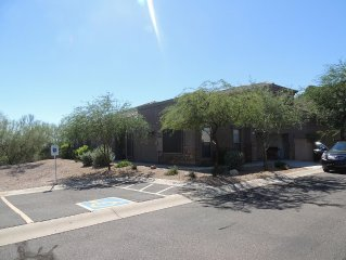 Our town home sits at the base of the majestic Superstition Mts.