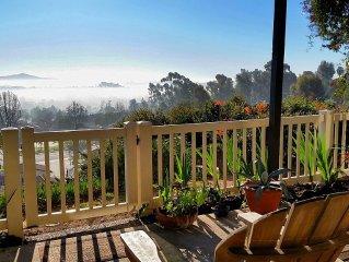 San Diego, Encinitas Condo with incredible Mounta