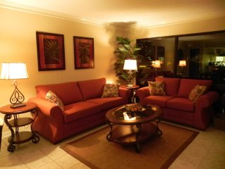 Newly Furnished, Beautifully Decorated 1 BR/2 BH Villa