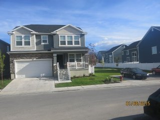 Newly built home in a developed community  close to Old Town Lehi