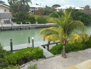 2/2 w/ loft SFH on canal within walking distance to the beach!