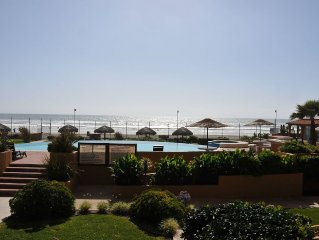 RECENTLY RENOVATED: Beachfront, Walk Out Access To Pool, BBQ Pit's And Beach