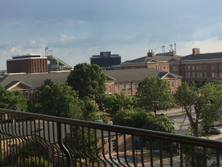 Enjoy Auburn in Style in this Luxury Penthouse Overlooking Jordan Hare Stadium