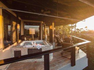 Two Bdrms, Sleeps 8, Ocean View, Private Beach, Hot Tub, Terrace, Tulemar Resort