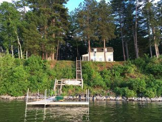 Waterfront Two Bedroom Cottage On Eastern Shore of Lake Memphremagog in Newport