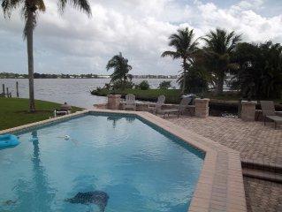 Fantastic Florida Fun at its Finest. Fish, Boat, Swim, Shop, & beaches nearby..