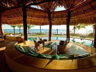 La Saladita Beachfront Home.  Beautiful, Private & All-Inclus