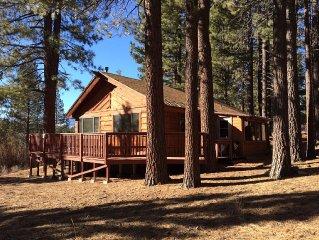 Cozy Secluded Cabin near Heavenly & casinos