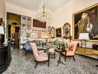 Fabulous & ample home with all comforts (sleeps 6 , 3 Bth) central Venice