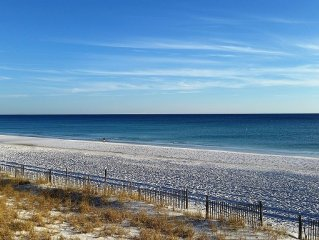 Brand New Rental--pool And Gulf Views And Only Steps From The Beach!!!
