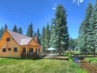 Creekside Corner Cabin At Vallecito Lake Near Durango And Bayfield Colorado