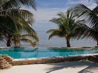 Los Porticos Villas - Ocean Front Condo near Placencia Village (Villa 1A)