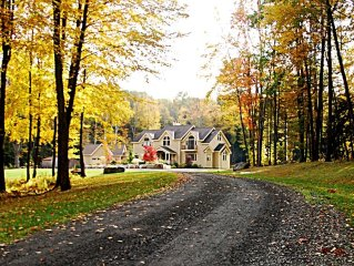 Elegant 6000+SF Luxury Estate on 13+ park-like private acres in Great Barrington