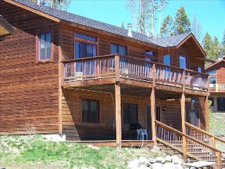 4 Bdrm Clean Grand Lake House Backs to National Forest