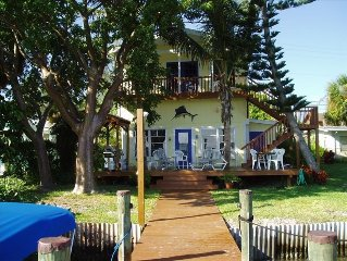 Little Gasparilla Island House 3 Bed 3 Bath Private dock --