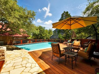SXSW Available! |Private Pool | 5 Bed./4 Bath | Downtown