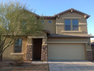 Fully- Furnished 2400 Sq. Ft. House In Sunny Maricopa