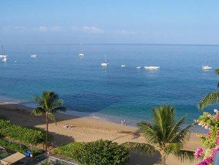 Kaanapali Beach Whaler Condo with Beautiful Ocean View