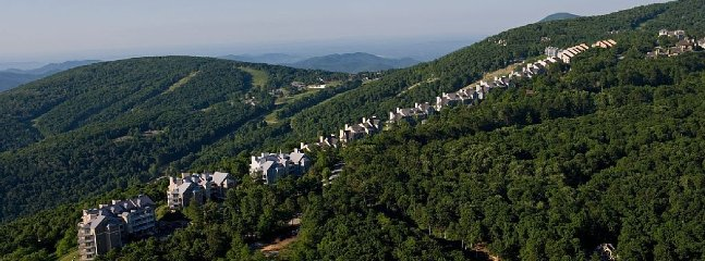 Aerial view of the condos on the ridge!