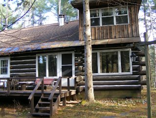 FAMILY FRIENDLY AUTHENTIC RUSTIC LOG CONDO