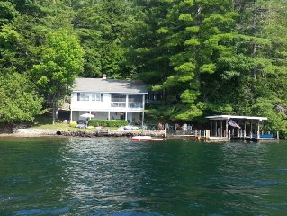 Waterfront Year-Round House on Lake George - 3BR Main House and 1BR Guest House
