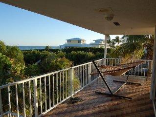 Gorgeous Key Largo Ocean Side Waterfront Home W/ Spacious Dockage & Views