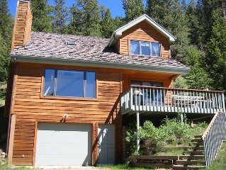 Peaceful Home on River **Walk Into Rocky Mtn N.P. and YMCA**