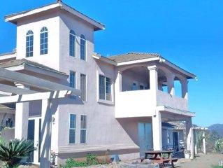 The Hilltop Manor in Ramona, San Diego County California