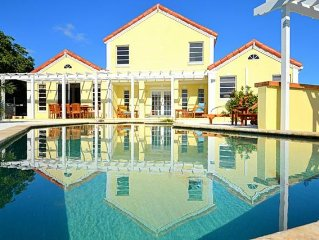 Chalk Sound/Silly Creek/ Affordable Private Luxury Ocean Front Villa