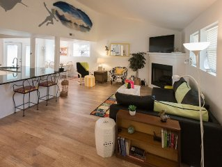 Family and Pet  Friendly Newly Renovated National Artist's Beach Home