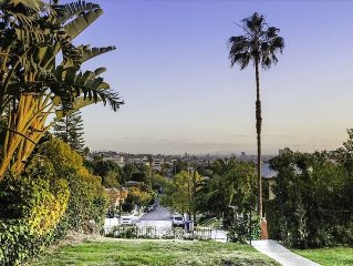 1926 Charming Spanish with Downtown views in prime Los Feliz