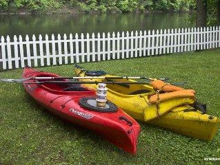 Woodstock Design Waterfront, Deck, Private Dock Kayak, Swim