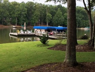 Reynolds Plantation One level lake front home with panoramic views near Ritz