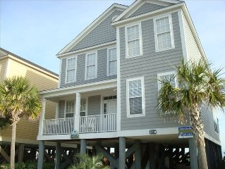 'SUNSWEPT' OCEANFRONT  PRIVATE POOL + BEACH WALK, SLEEPS 18 EXCEEDS EXPECTATION