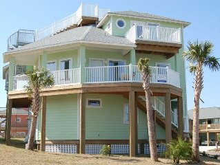 SAND POINT SEASIDE! Rooftop deck, views, close to town.