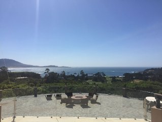 LARGE ESTATE WITH SWEEPING VIEWS OF GOLF AND OCEAN VERY CLOSE TO THE LODGE