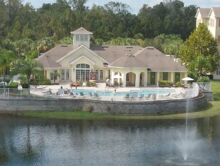 This Luxury 3B Condo Is Perfect For A Disney Vacation. Only 4 Miles From Disney!