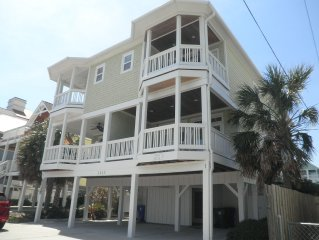 Luxurious ocean view 6-bedroom home on Carolina Beach