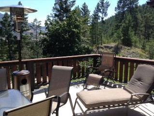 Private retreat with mountain and lake views, plenty of room for people & cars!