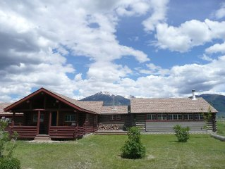 Enjoy Montana In This Restored Log Cabin Surrounded By Breathtaking Views.
