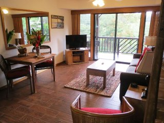 Wailua Hideaway - One Bedroom Stream-Side Apartme