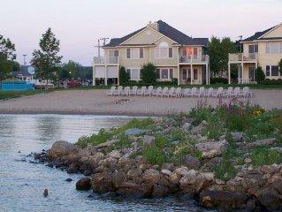 Gorgeous ~In~ Town Lakefront Boyne City Condominium with Free Wifi