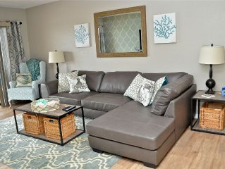 Just Renovated Condo On Water!! Fish On Dock Or Dolphin-watch From Your Balcony