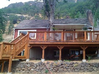 Great Gorge Getaway - Large Deck  & Yard - River Views - $750/week