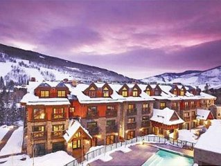 Heart of Vail Village-Luxurious, Spacious & Elegant Condo