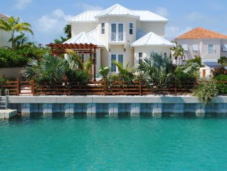 Waterfront Home In Leeward
