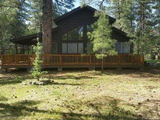 Towering Ponderosa Pine Cabin