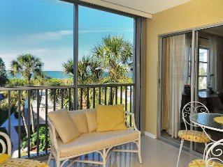 Peace In Paradise; Premium, Tranquil, Gulf Front Perfection On Siesta Key!