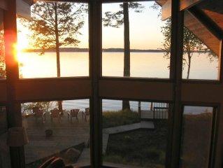 Gorgeous Sunset Beach House - ~WiFi-HDTV - 225' Private Sugar Sand Beach!